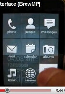 Video shows HTC Touch.B/Rome using Qualcomm's BrewMP