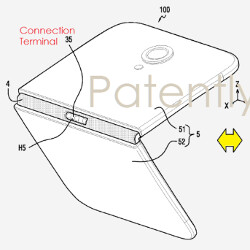 Samsung files patent for foldable phone; 2017 Apple iPhone could employ flexible nanowire display