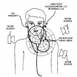 Apple granted patents for noise canceling earbuds, liquid resistant speaker