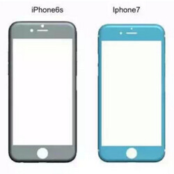 for Apple iPhone 7 reveal it to be slightly smaller and thicker ...