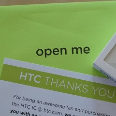 """HTC 10 early adopters should be receiving their """"thank you"""" gifts"""