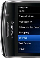 Themes for your BlackBerry now available at App World, or create one of your own