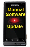 Want to manually update your Motorola DROID's software? Here's how.
