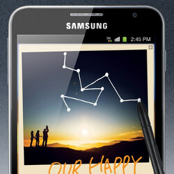 The original Samsung Galaxy Note was the first smartphone with a greater than 5-inch screen