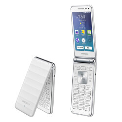 samsung galaxy folder 2 android flip phone spotted on gfxbench with specs upgrade