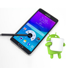 t mobile finally updates the samsung galaxy note 4 to