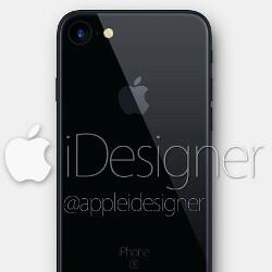 iPhone 7 in Black rumor reaffirmed, concept renders pop up everywhere