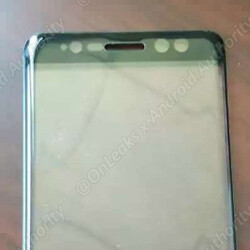 Samsung Galaxy Note 7 front panel leaked: open your eyes wide for an iris scan