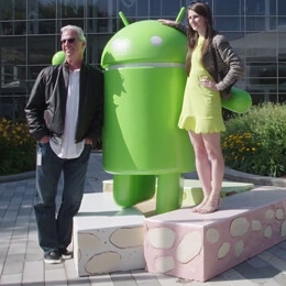 Android 7.0 Nougat statue unveiled by Google