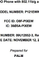 FCC gives thumbs up to Palm Pixi with Wi-Fi heading for Verizon