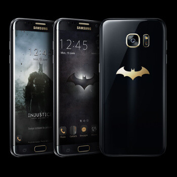 Samsung Galaxy S7 Edge Batman Injustice Edition unboxing and