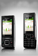 The Sony Ericsson Hazel and Elm - the youngest members of the Greenheart family