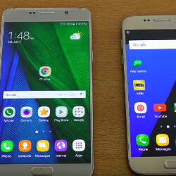 Upcoming Note 7 'Grace' UX beta vs TouchWiz on the Galaxy S7 (video)