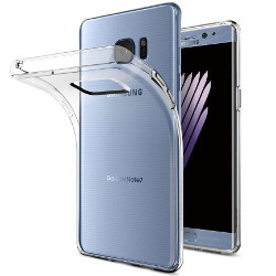 Note 7 official accessories listed along with a bunch of third-party cases