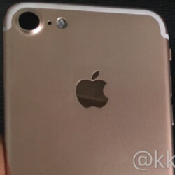 Series of photos show off the Apple iPhone 7's rear cover and a Lightning to 3.5mm adapter