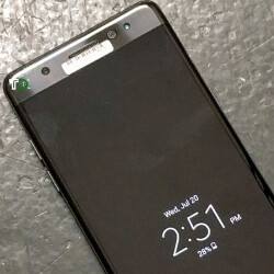 This is the clearest picture of a completed, black Galaxy Note 7 to date