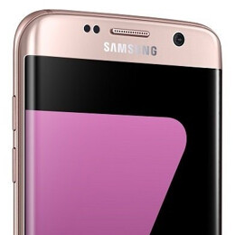 Pink Samsung Galaxy S7 edge unofficially available in the US