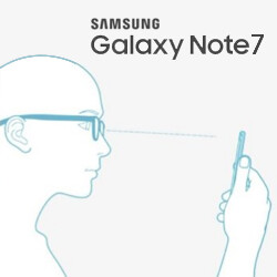 Galaxy Note 7 iris scanner limitations disclaimer, Grace UX shown off in leaked screenshots