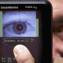 Rumors say iris scanners coming to more phones in the future, including Apple's iPhones