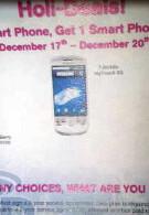 T-Mobile offers BOGO on all smartphones until December 20