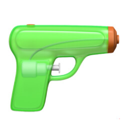 Apple reveals 12 upcoming emoji for iOS 10; rifle replaced by water gun