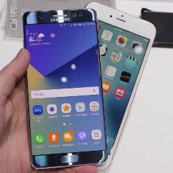 Galaxy Note 7 vs iPhone 6s Plus: big-screen flagship comparison