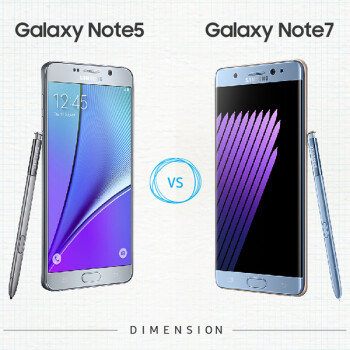 Samsung outs Note 5 vs Note 7 infographic, find the 10 differences