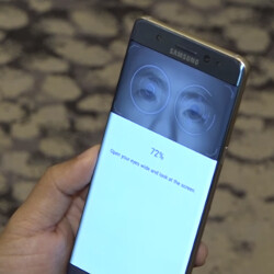 Note 7 iris scanner should soon be accessible for 3rd party app developers!