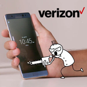 Verizon unboxes the Samsung Galaxy Note 7 with the help of an animated doodle