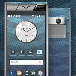 Vertu Aster Chevron is one of the cheapest Vertu smartphones to date (but still costs a lot)