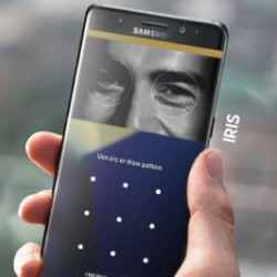 Samsung details the iris scanner and security options on the Note 7