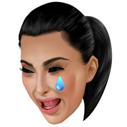 The horror of it all: Kim Kardashian's last BlackBerry Bold dies