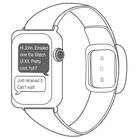 Samsung files patent for interchangeable smartwatch bands using Apple Watch sketches
