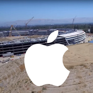 Apple Campus 2: new drone footage shows the construction in glorious 4K resolution