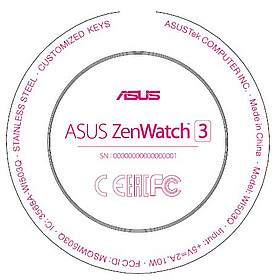 The upcoming Asus ZenWatch 3 will feature a circular display
