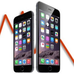 Lower Apple iPhone sales are having a negative effect on suppliers
