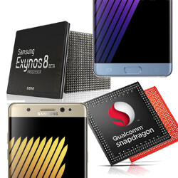 Samsung Galaxy Note 7 Snapdragon 820 vs Exynos 8890: the beasts clash
