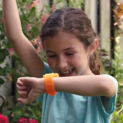 Wearables for kids free with McDonald's Happy Meals; two different models have limited functions