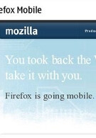 Mobile version of Firefox to be launched within days; Nokia N900 gets first crack at it?