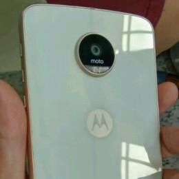 White Motorola Moto Z Play leaks out