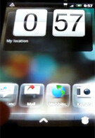 Sense UI for Android 2.1 shown on video