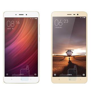 Xiaomi Redmi Note 4 vs Note 3 vs Redmi Pro size and specs comparison