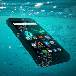 Water-resistant Archos 50 Saphir packs a 5000 mAh battery, costs around $220