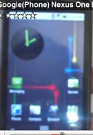 Two videos of the Nexus One surface