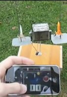 Georgia Tech students use an iPhone to control a rocket launcher