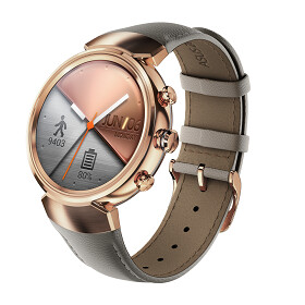 The Asus ZenWatch 3 is here: slim and stylish design, round display