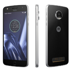 Motorola promotes the Moto Z Play Droid with up to 50 hours of battery life
