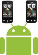 HTC working on an Android unit with two displays?