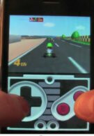 Jailbroken iPhone running N64 emulator with Wiimote support