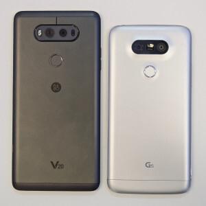 LG V20 vs LG V10 vs LG G5: specs comparison
